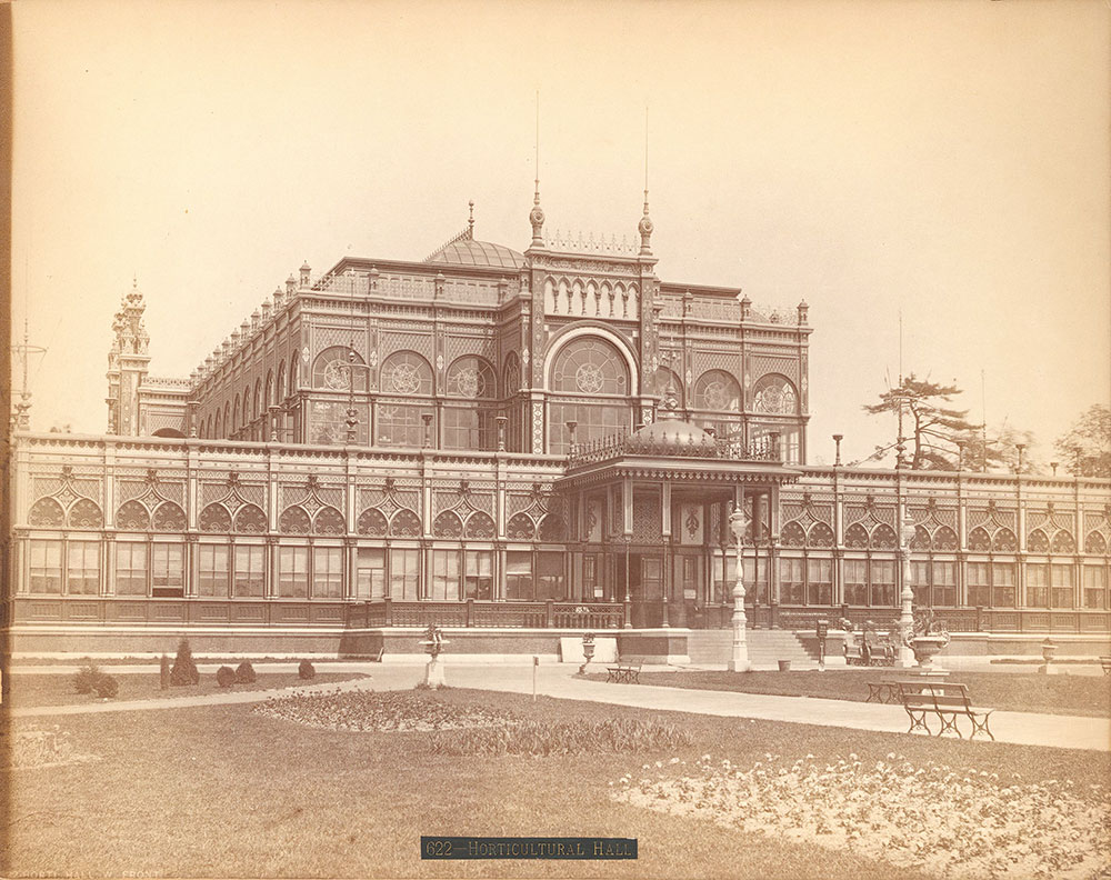 Floral Hall, west front
