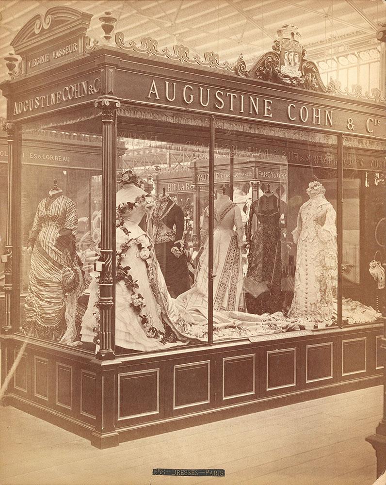 Augustine Cohen's exhibit-Main Building
