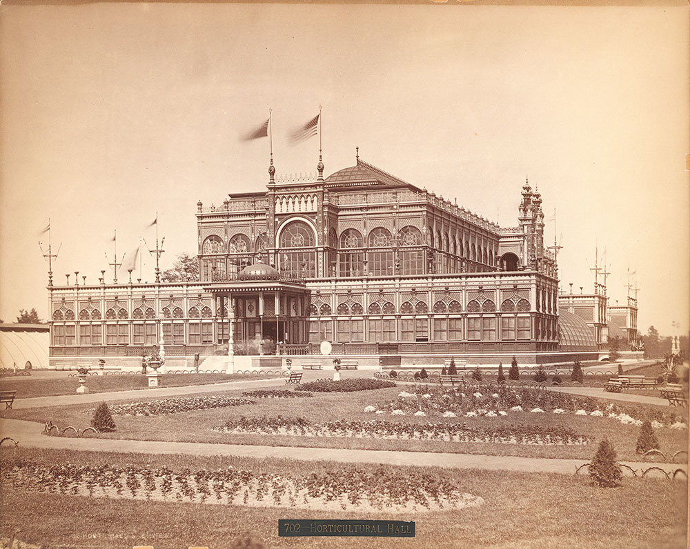 Horticultural Hall, s.e. view