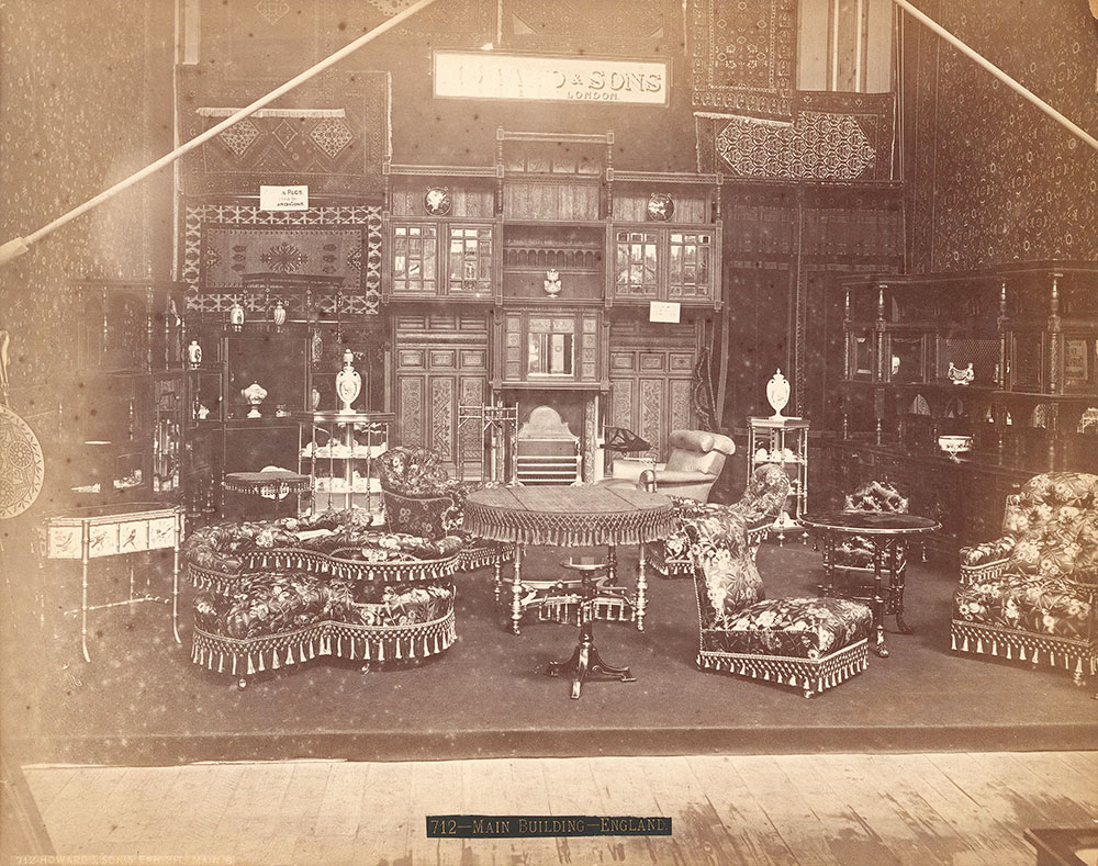 S. Howard & Sons' exhibit-Main Building