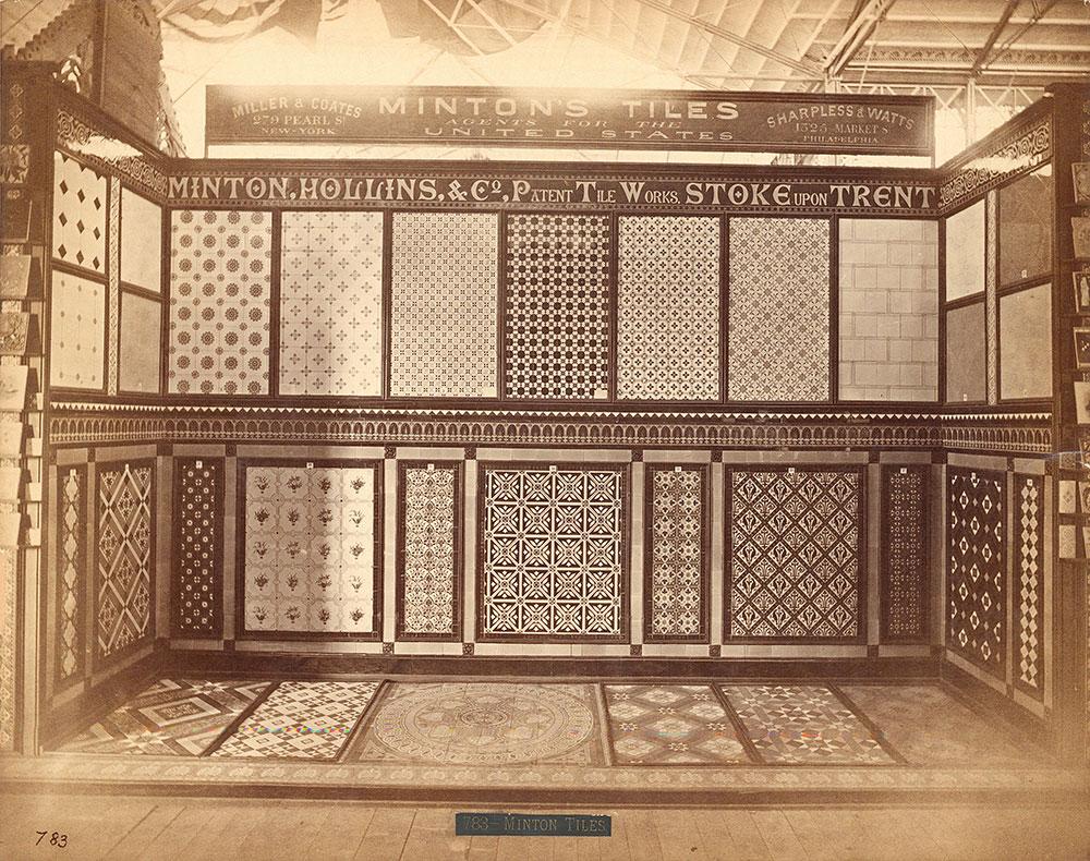 Minton, Hollins & Co.'s tile exhibit-Main Bldg.