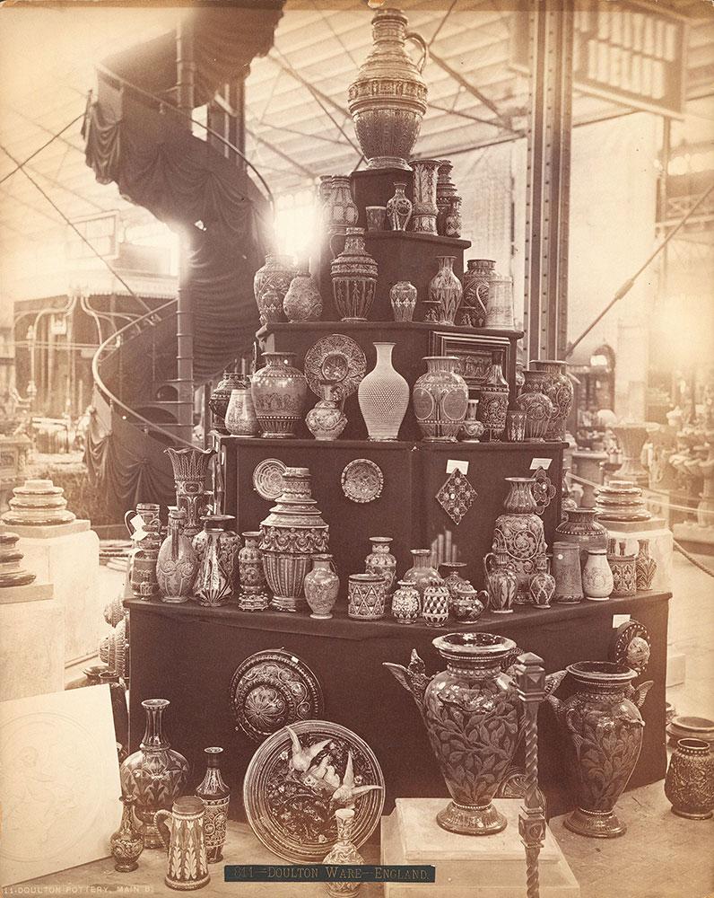 Doulton pottery