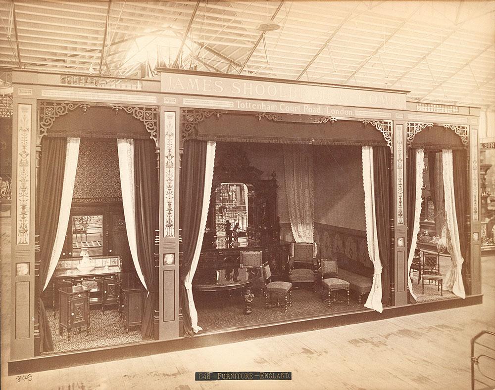 James Shoolbred & Co.'s exhibit-Main Building