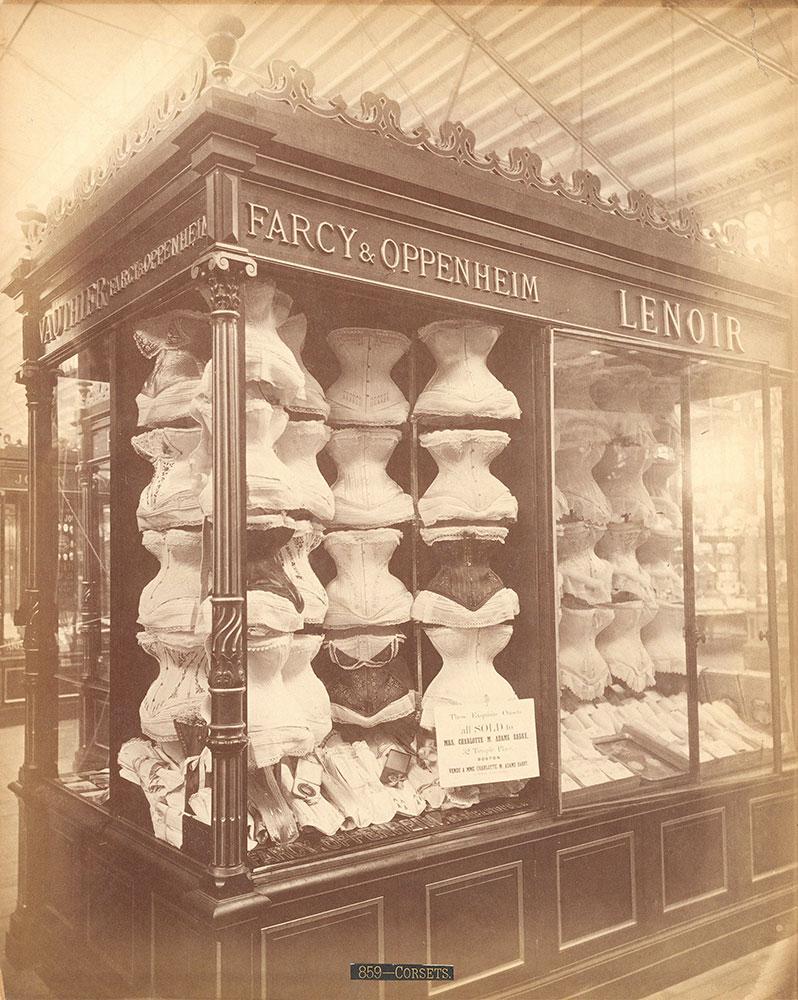 Farcey [sic] & Oppenheimer's [sic] exhibit-M. Bldg