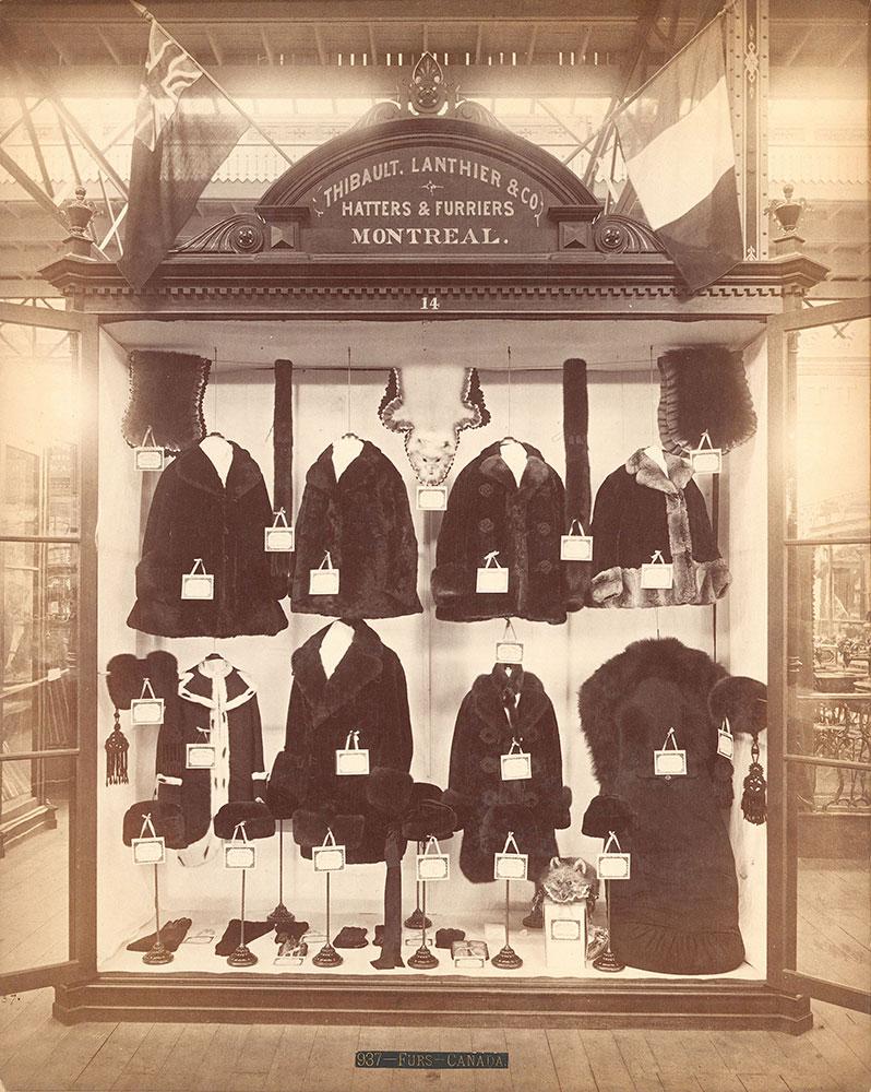 Thibault, Lanthier & Co.'s exhibit-Main Building