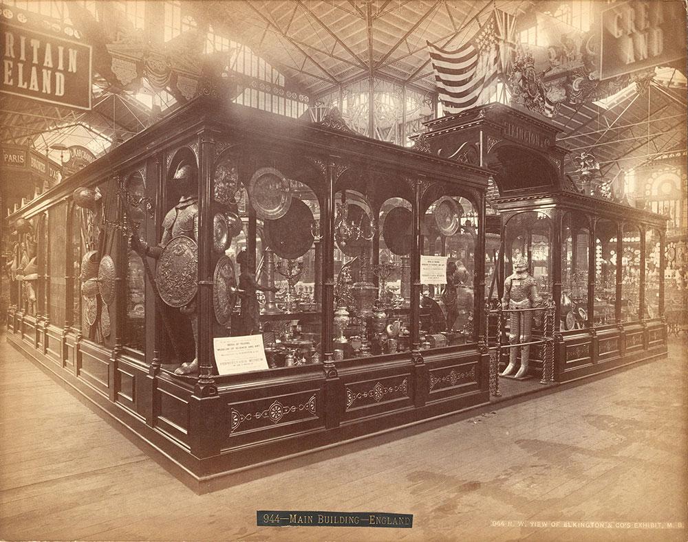 N.w. view of Elkington & Co.'s Ex.-Main Building