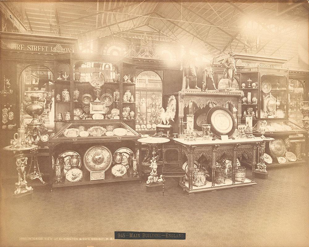 Interior view of Elkington & Co.'s Ex.-Main Bdg.
