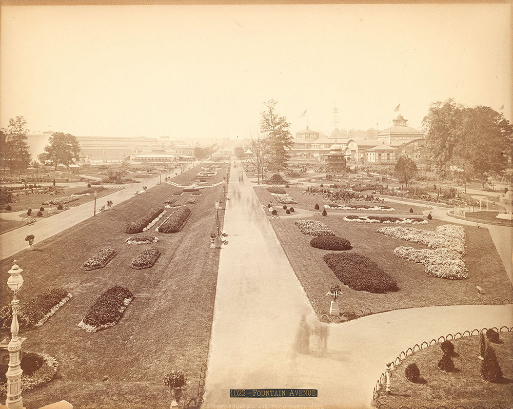 Fountain Avenue, from Horticultural Hall