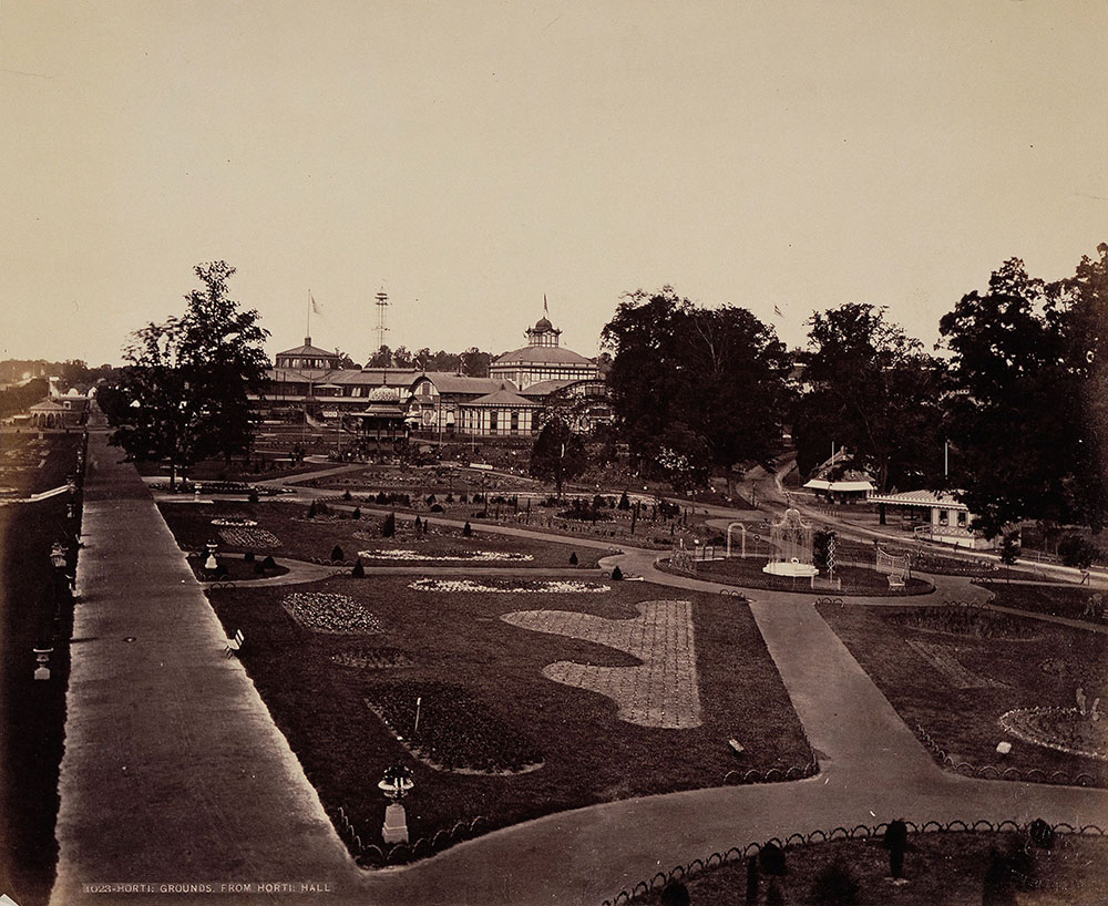 Horticultural Grounds, from Horticultural Hall