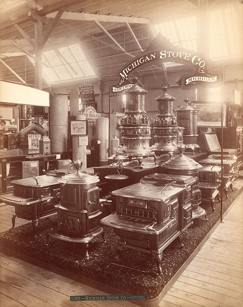 Michigan Stove Co.'s exhibit