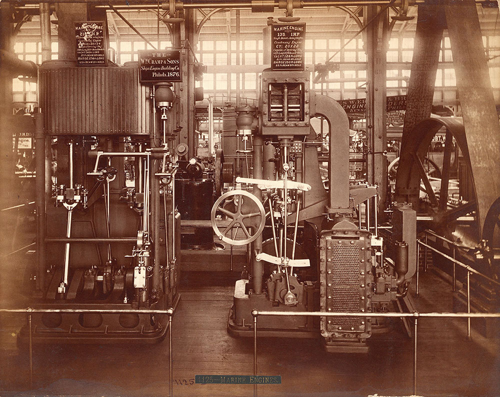 Wm. Cramp & Sons' engine--Machinery Hall