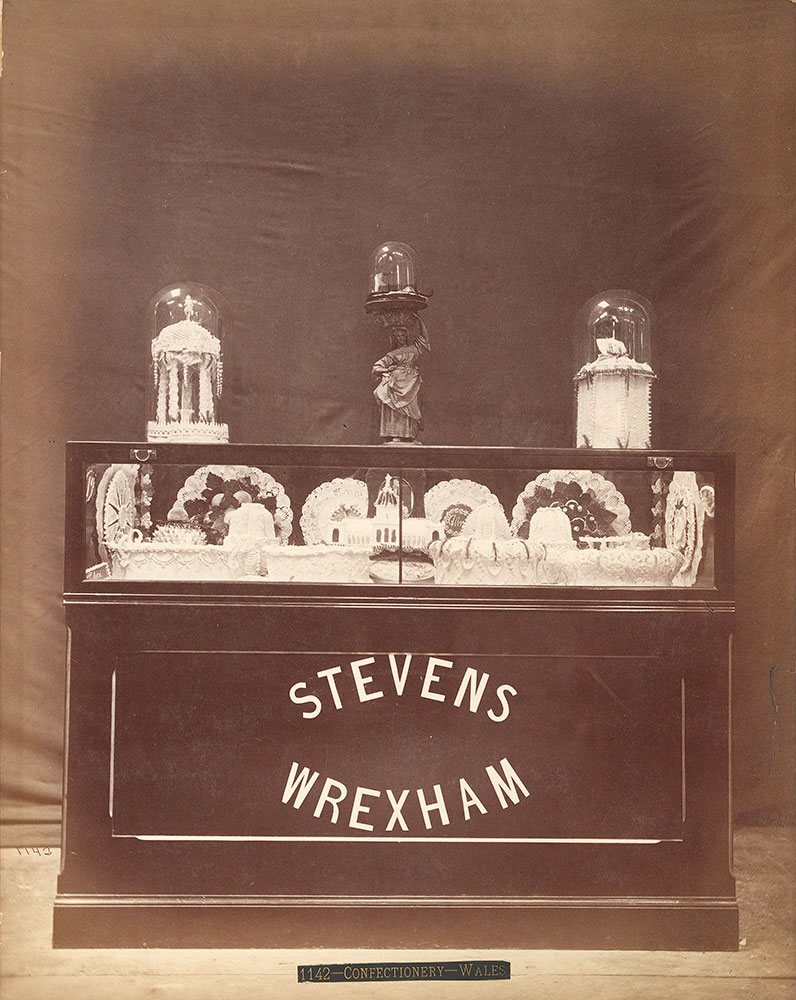 Steven's confectionery exhibit-Agricultural Hall
