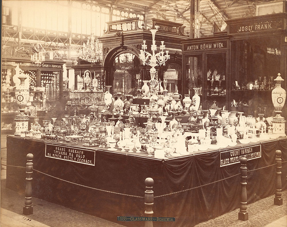 Count Harrach's exhibit-Main Building - Digital Collections - Free