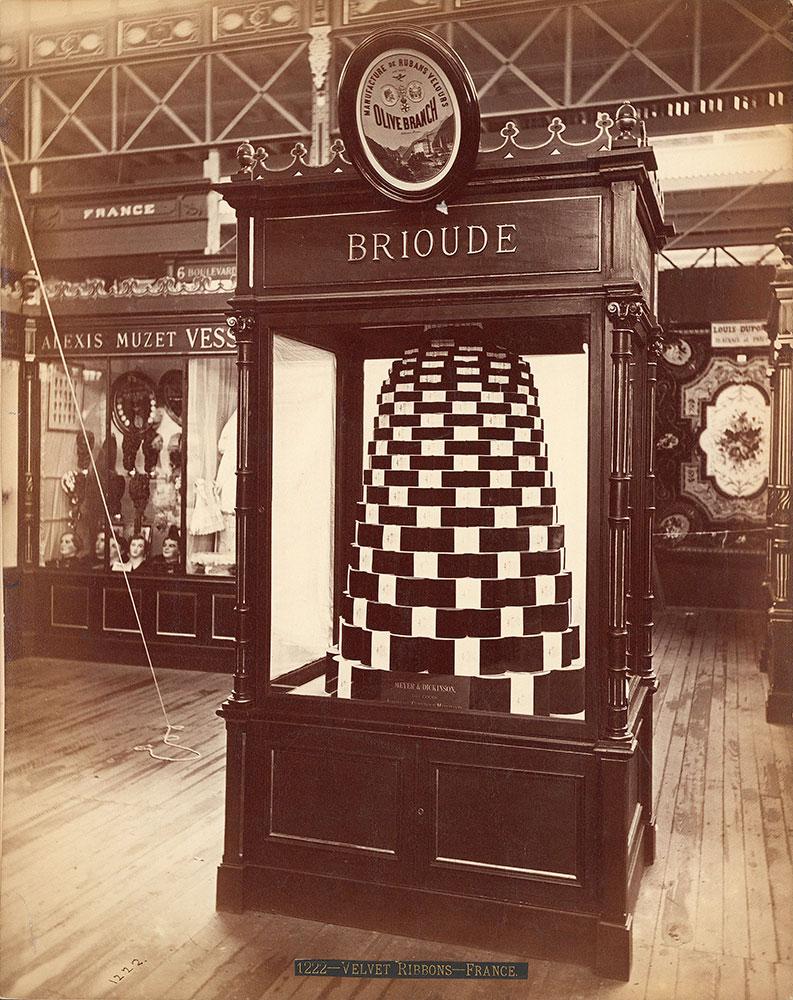F. Prinde & Co.'s exhibit-Main Building [Brioude]