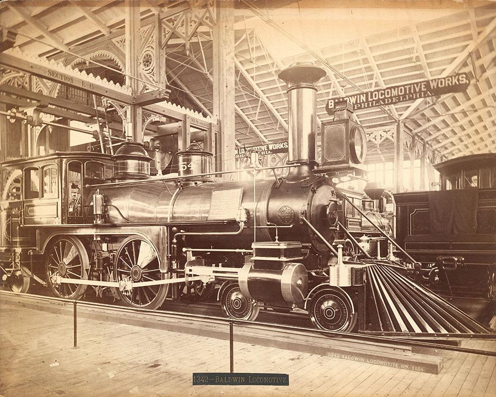 Baldwin locomotive,