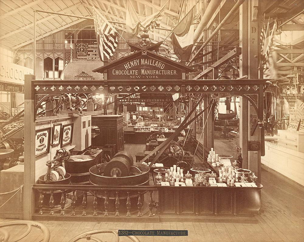 Henry Maillard's exhibit--Machinery Hall