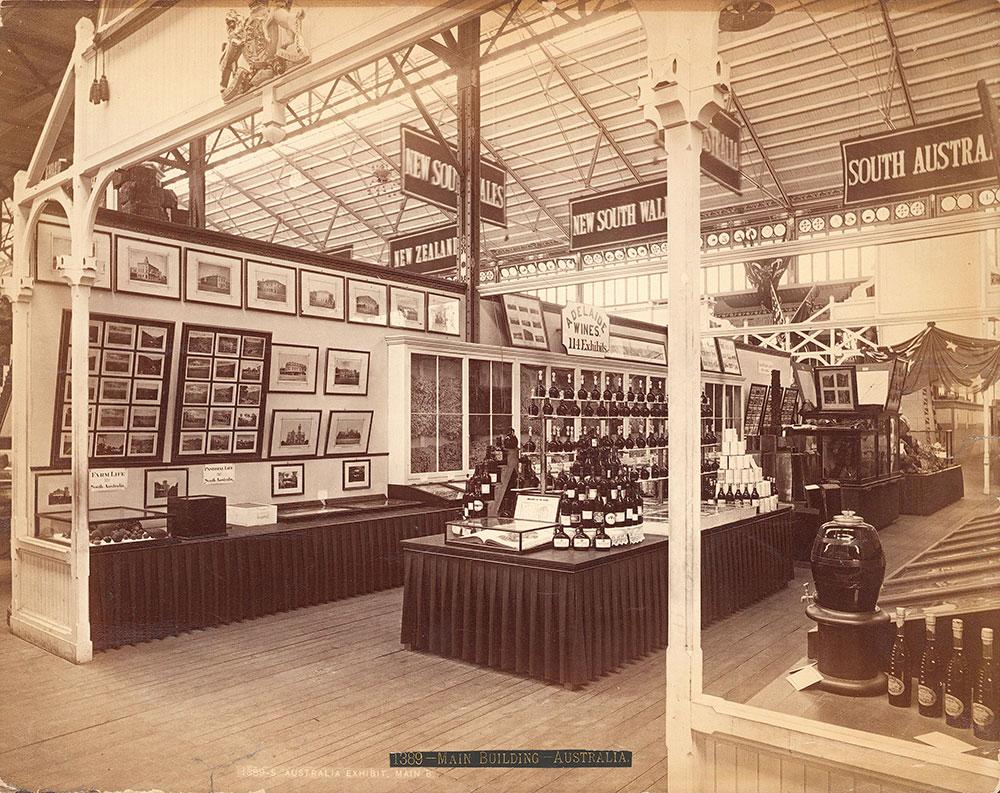 South Australian exhibit--Main Building