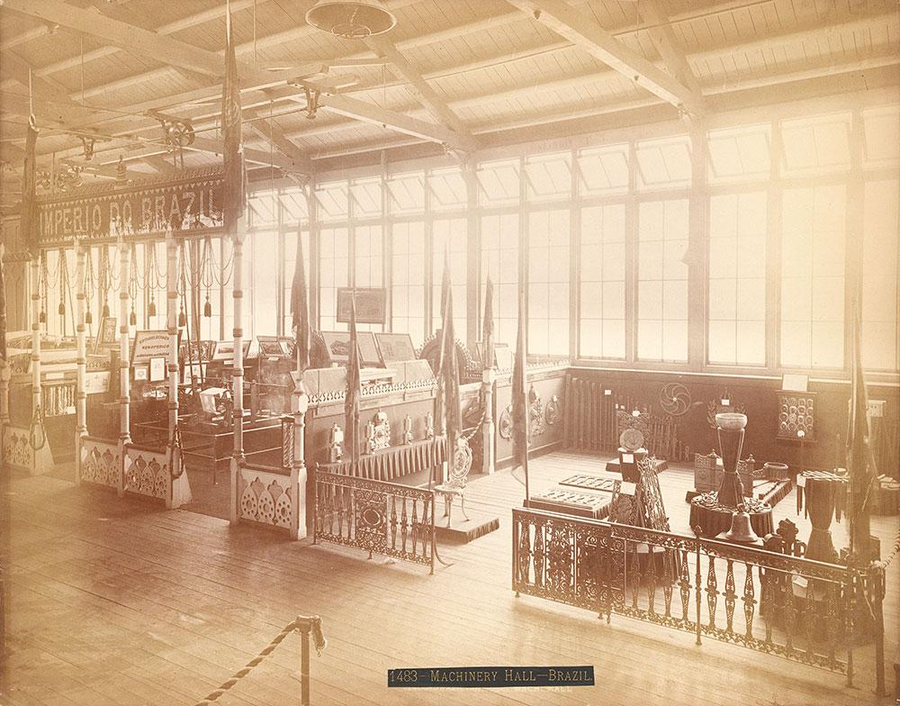 Brazilian section--Machinery Hall