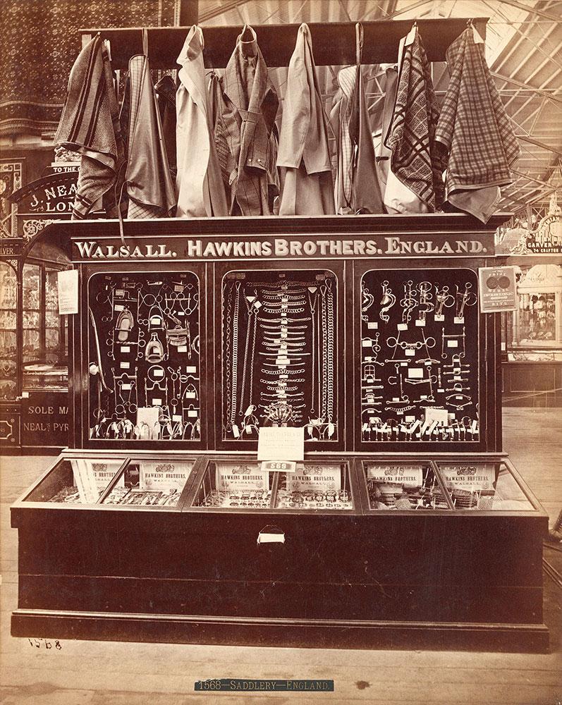 Hawkins Bros. exhibit-Main Building