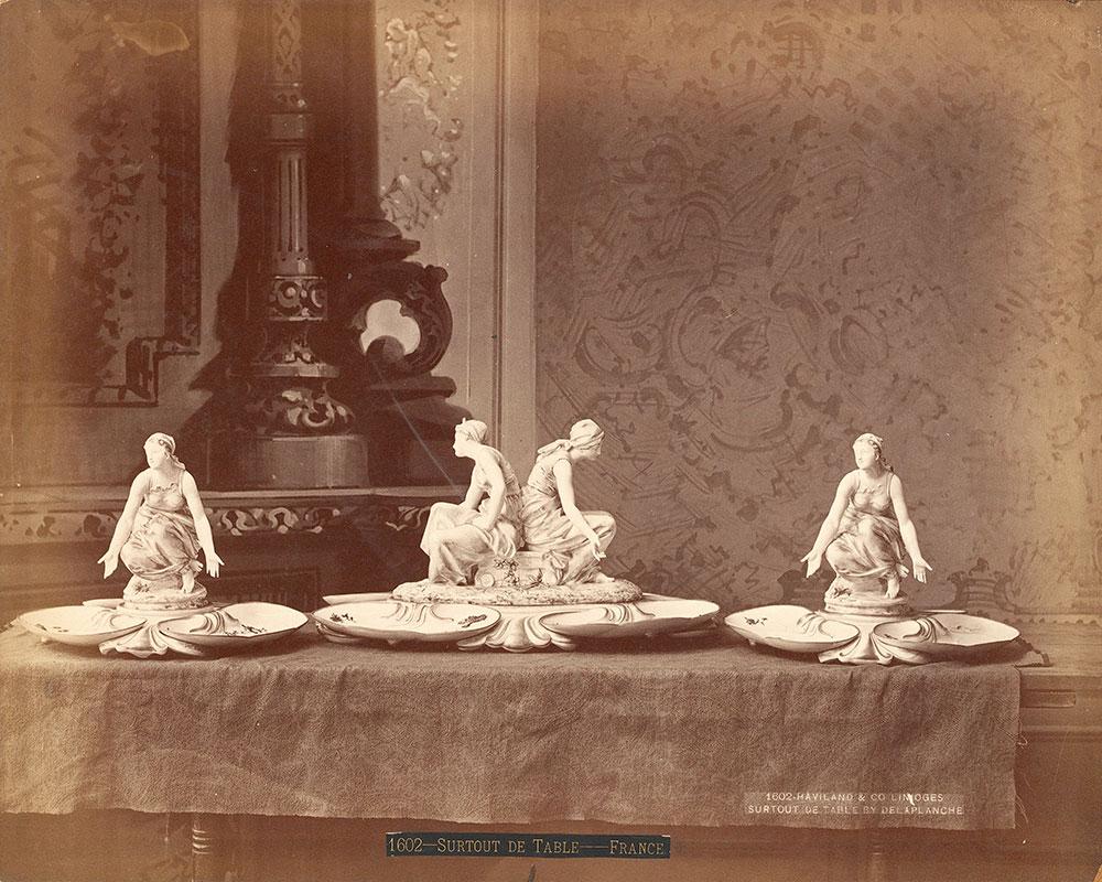 Haviland & Co.'s exhibit of china