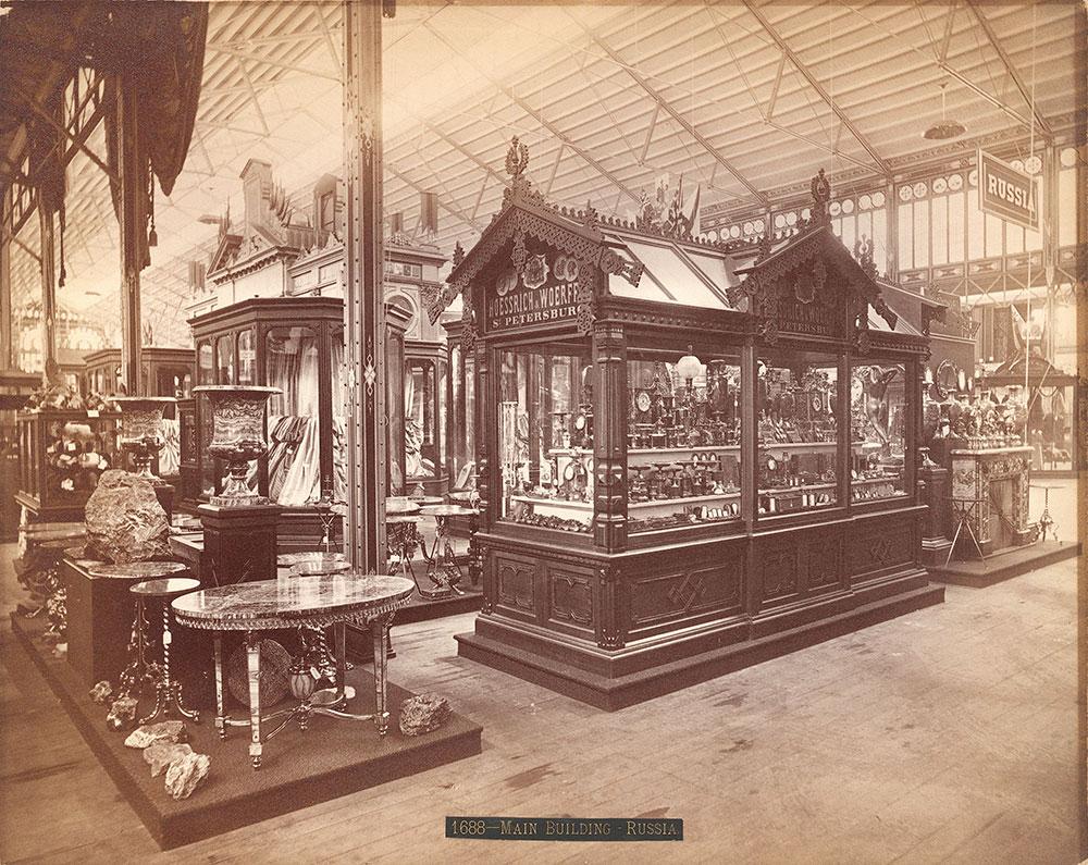 Hoessrich & Woerffel's exhibit-Main Building