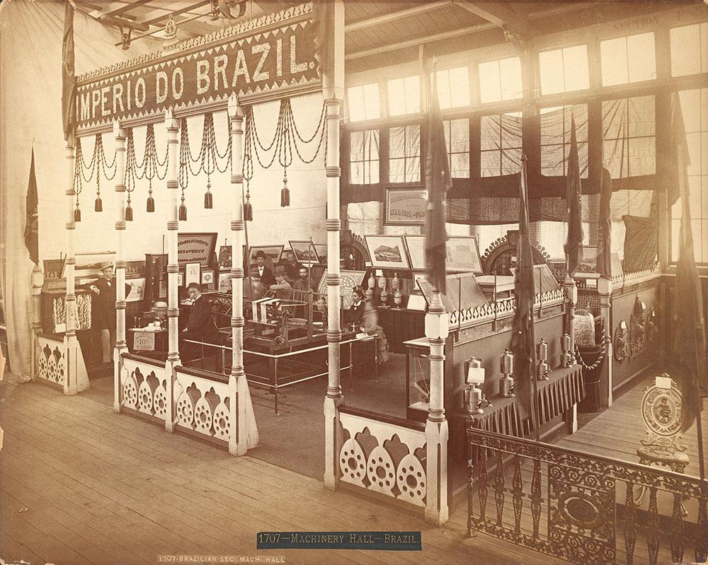 Brazilian section-Machinery Hall