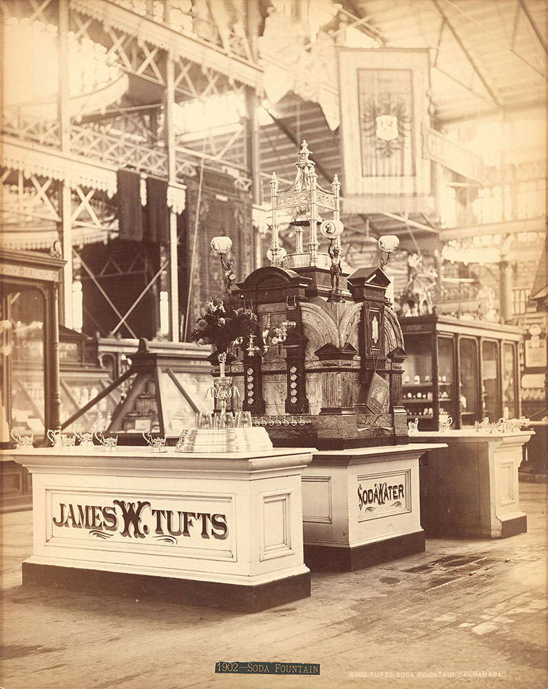 Tuft's [sic] soda fountain,