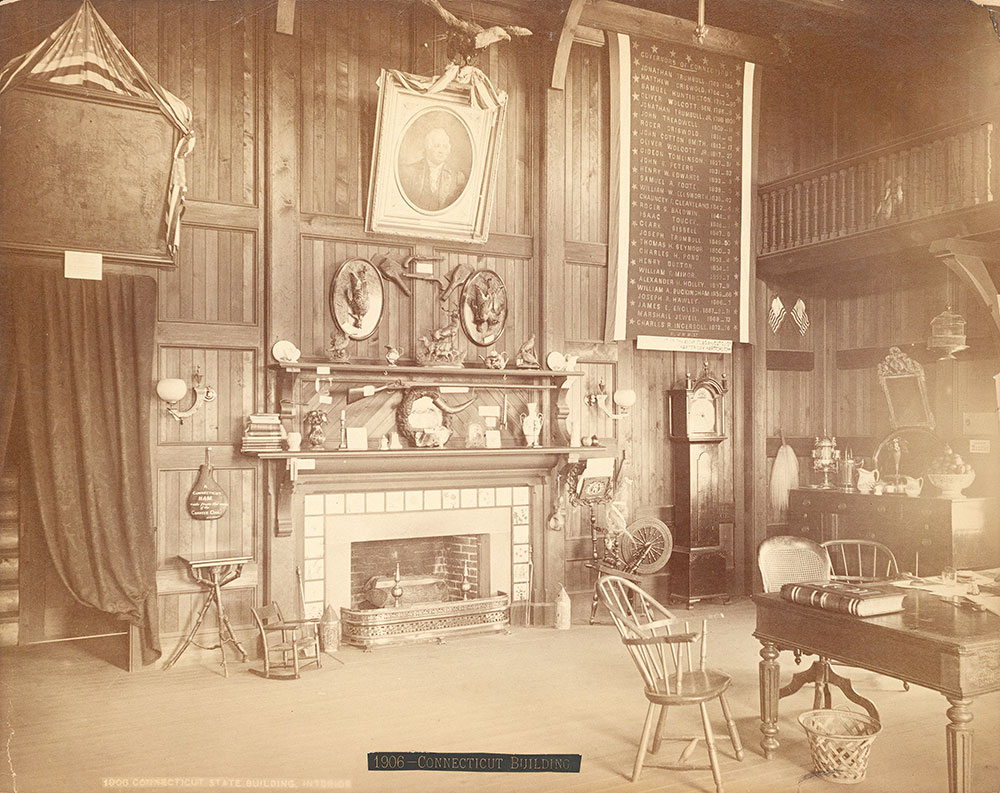 Connecticut State Building, interior