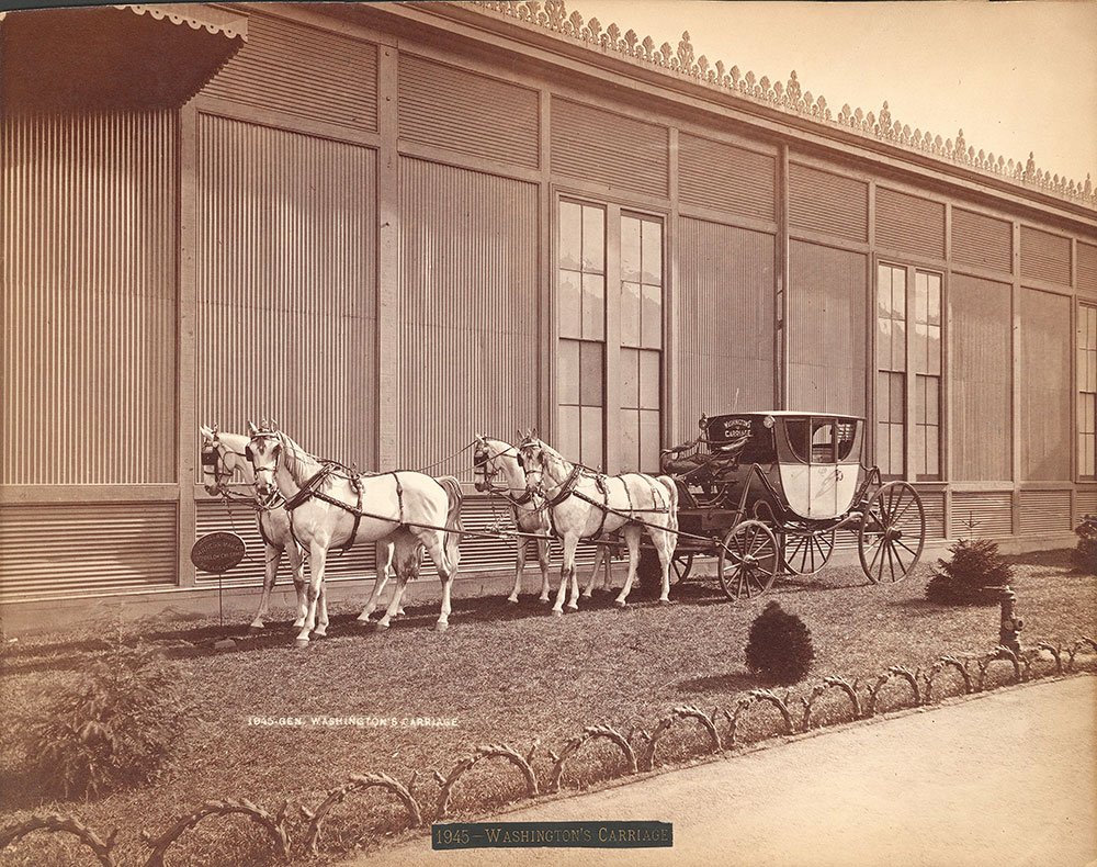 General Washington's carriage