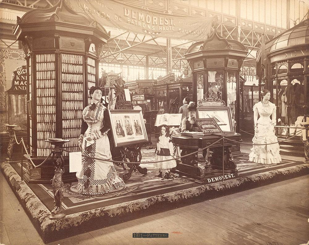Madam Demorest's exhibit-Main Building
