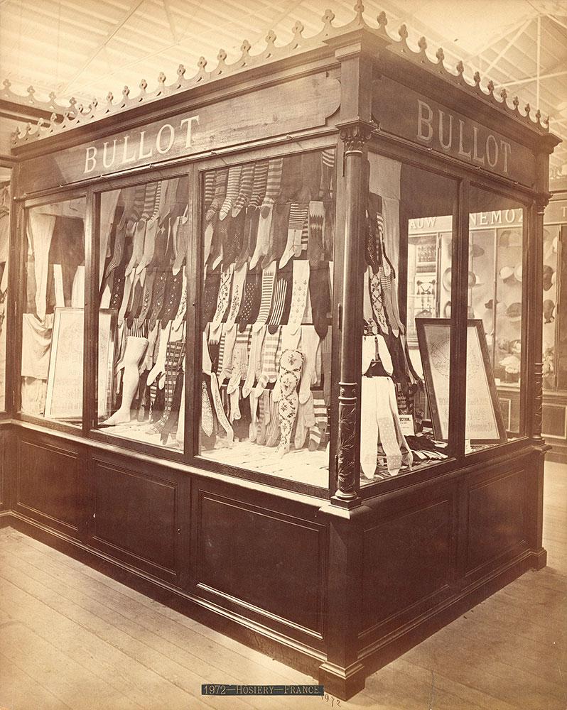M. Bullot's exhibit