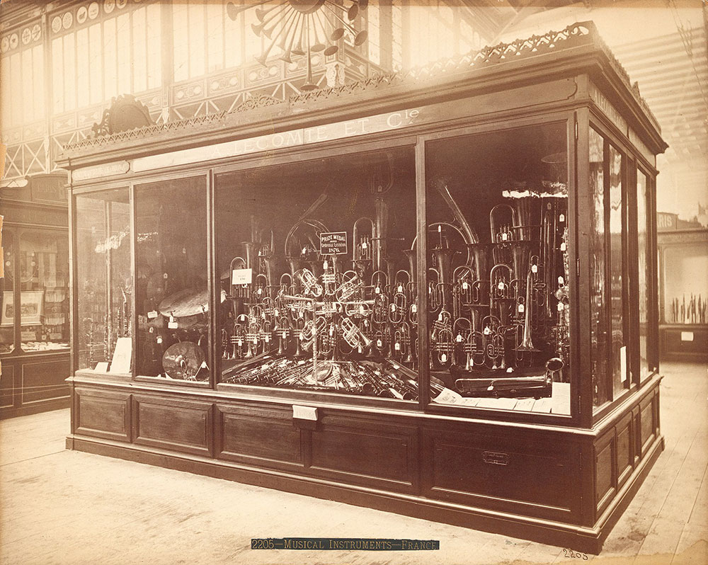 A. Lecemyste [sic] & Co.'s exhibit--Main Building