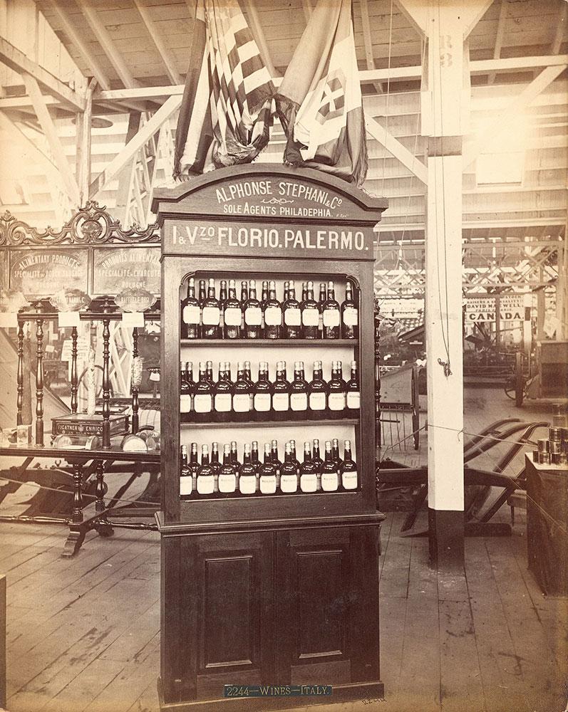Alphonse Stevann's exhibit--Agricultural Hall