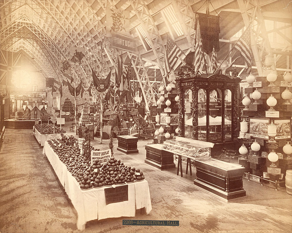 Agricultural Hall, nave, looking south