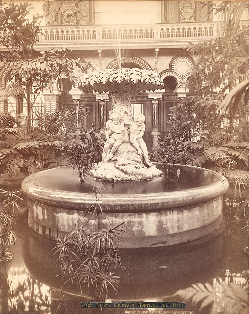 Miss Foley's fountain-Horticultural Hall