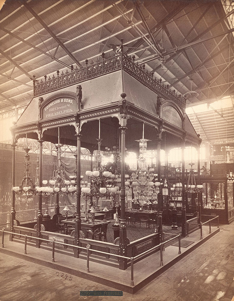 Cornelius & Sons' exhibit-Main Building