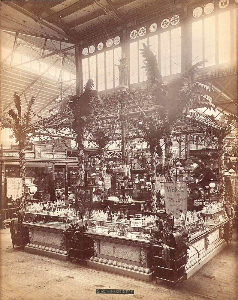 Wenck & Co.'s perfumery stand-Main Building