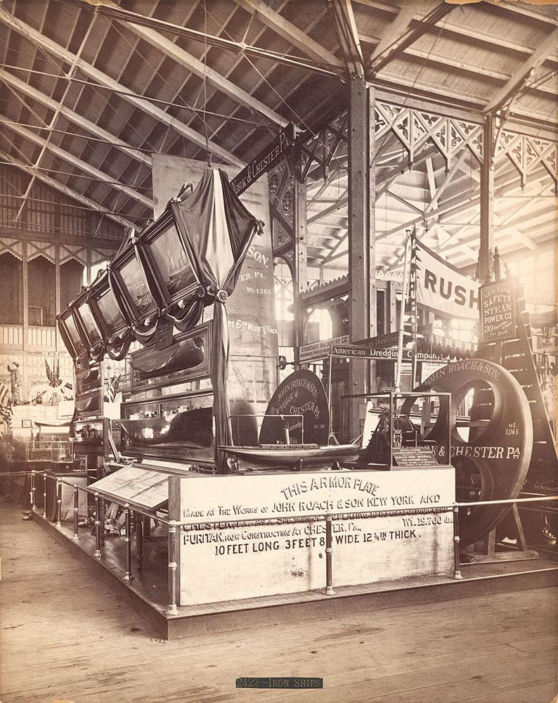 John Roach & Son's exhibit-Machinery Hall