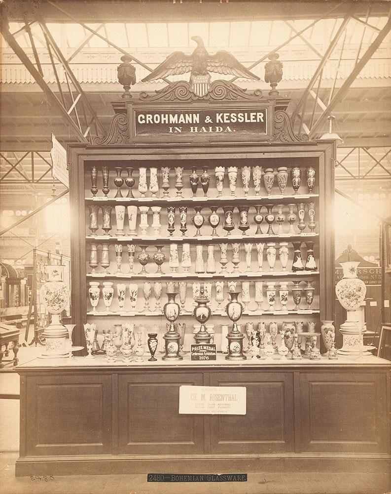 Grohmann & Kessler's exhibit-Main Building