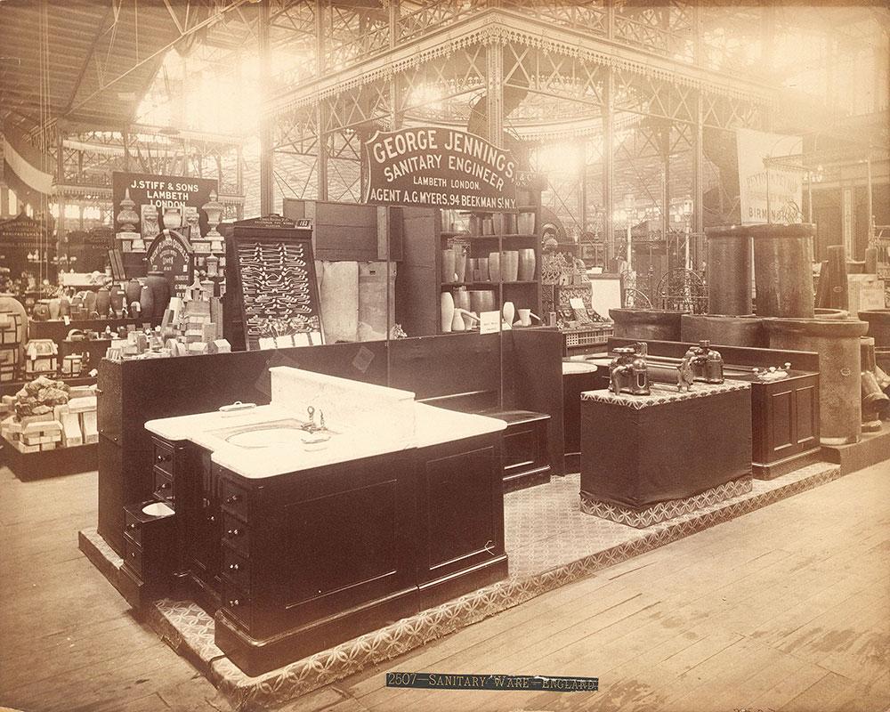 George Jennings' exhibit-Main Building
