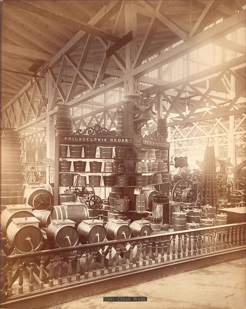 Philadelphia cedar ware exhibit