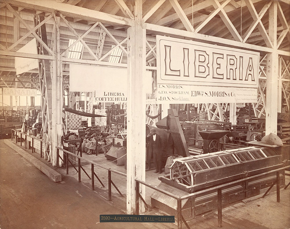 Liberia section-Agricultural Hall