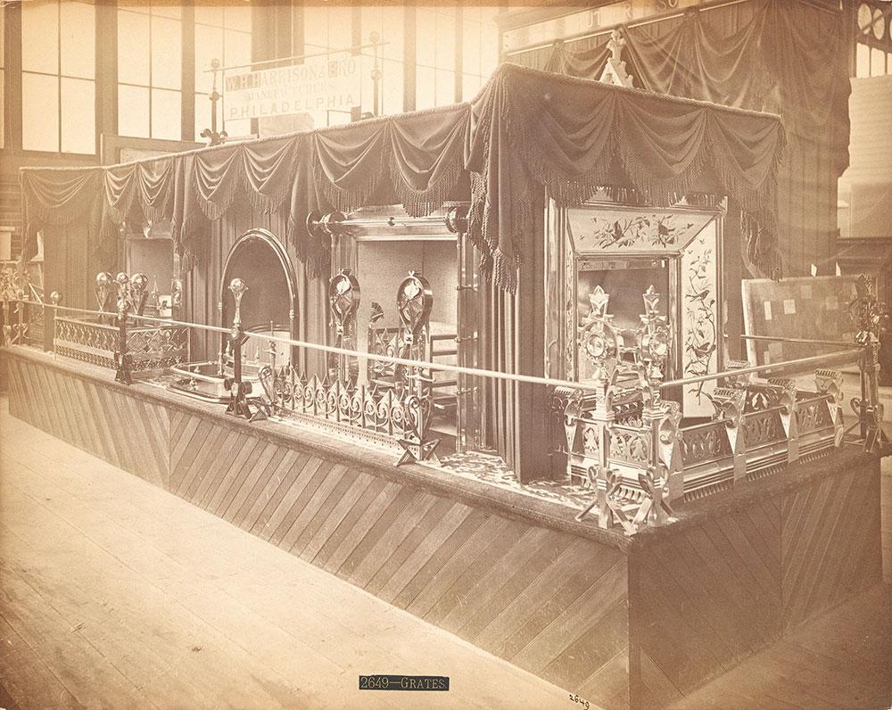 W.H. Harrison & Son's [sic] exhibit--Main Building