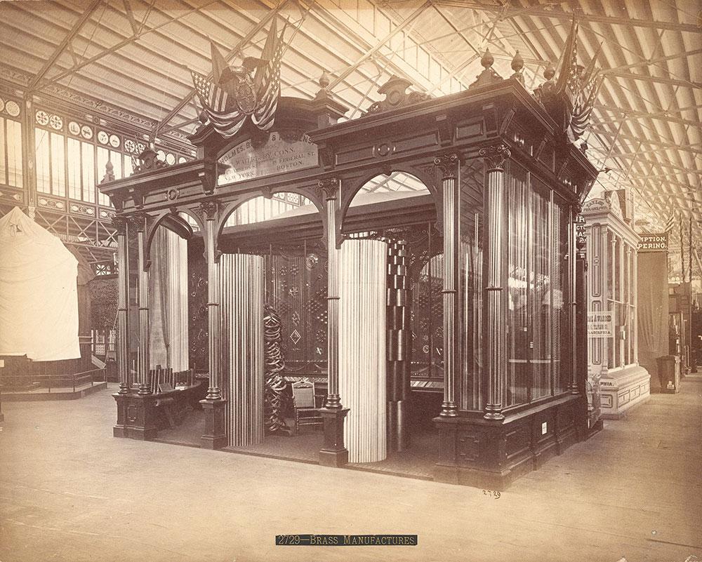 Holmes, Booth & Hayden's [sic] exhibit--M. Bldng.