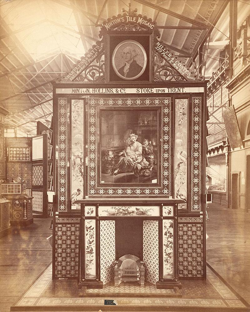 Minton, Hollins & Co.'s tile exhibit-Main Bldg
