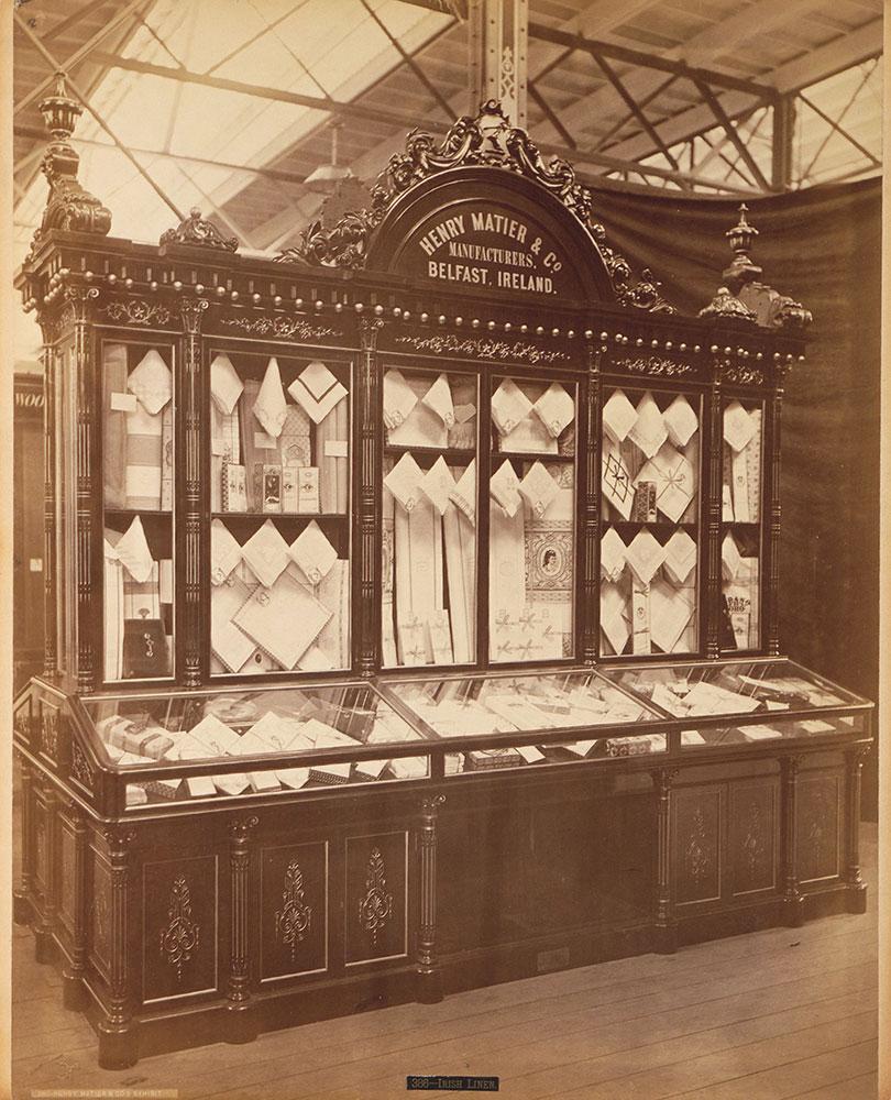 Henry Matier & Co.'s exhibit