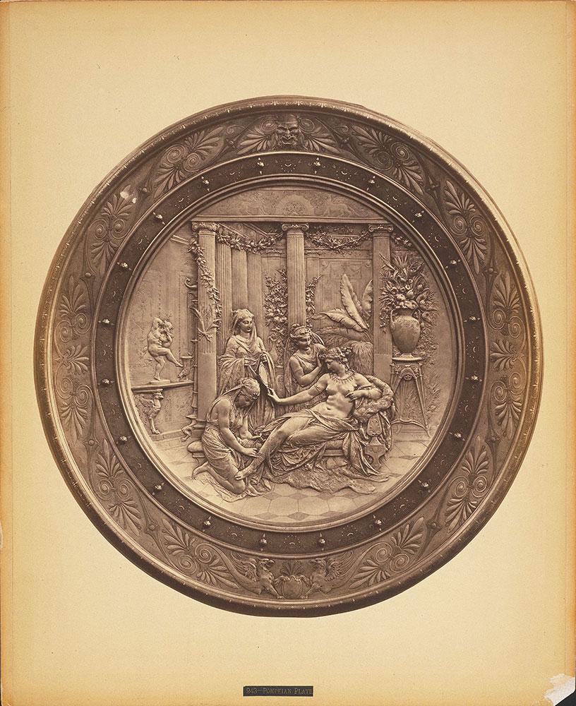 Pompeian plate--Elkington & Co.'s ex.--Main Bldg.