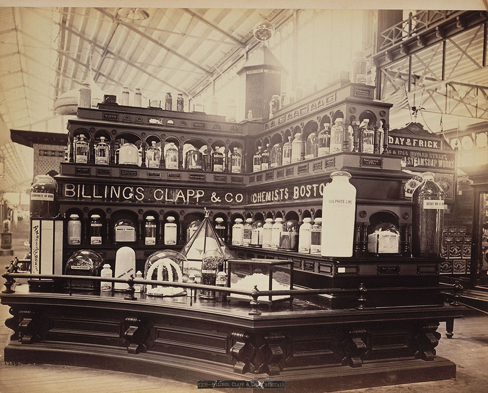 Billings, Clapp & Co.'s exhibit-Main Building