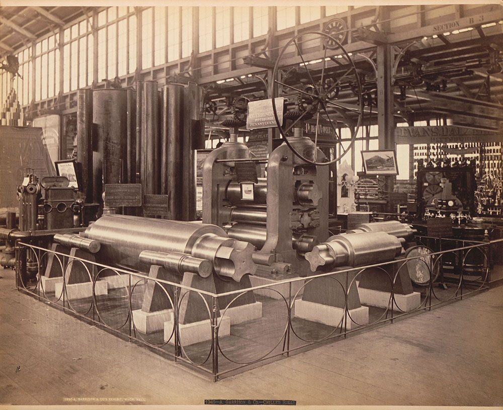 A. Garrison & Co.'s exhibit-Machinery Hall