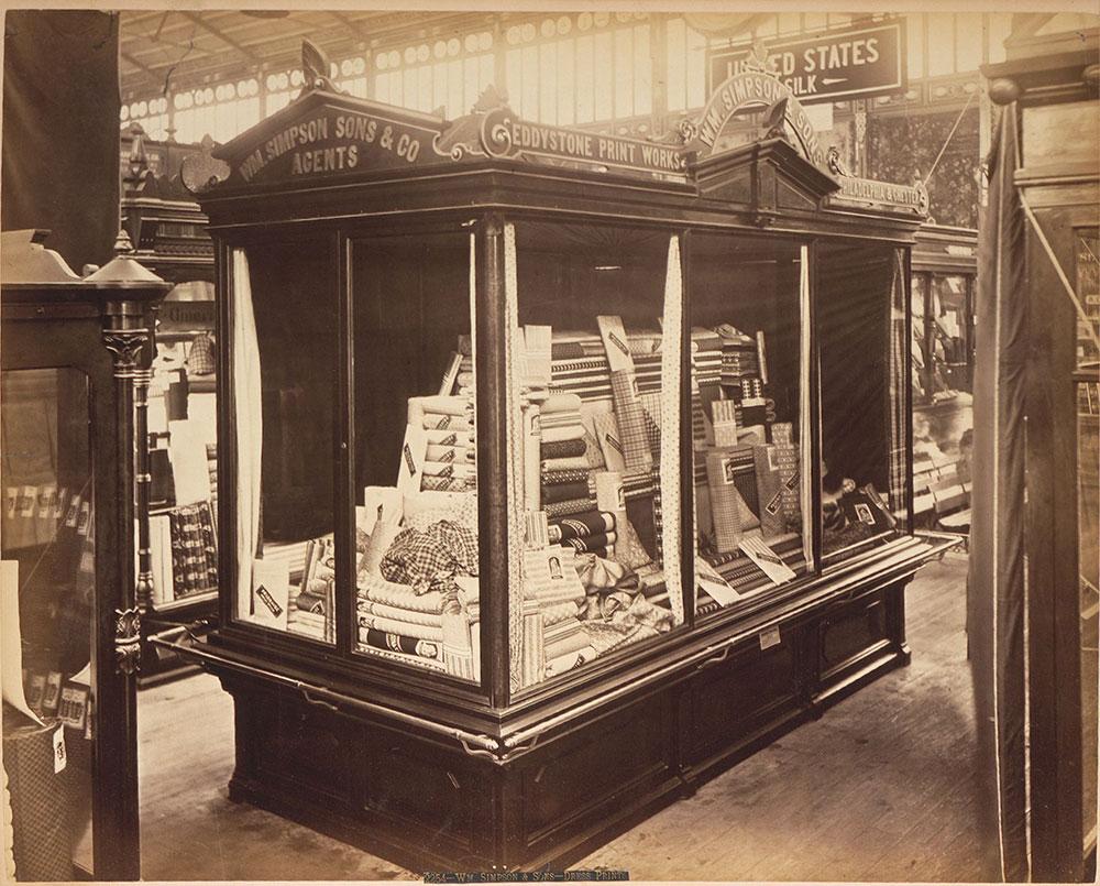 William Simpson & Co.'s exhibit-Main Building